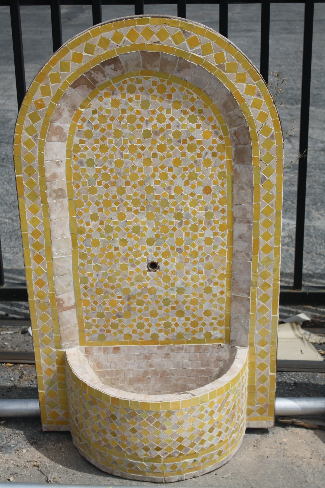 Moroccan Mosaic Tile Fountains Furniture Los Angeles