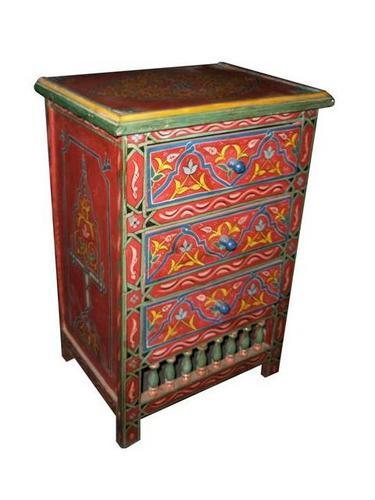 Hand Painted Furniture Moroccan Furniture Los Angeles
