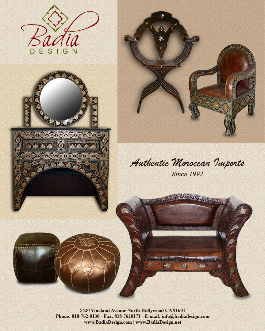 Moroccan Furniture Home Interior Design