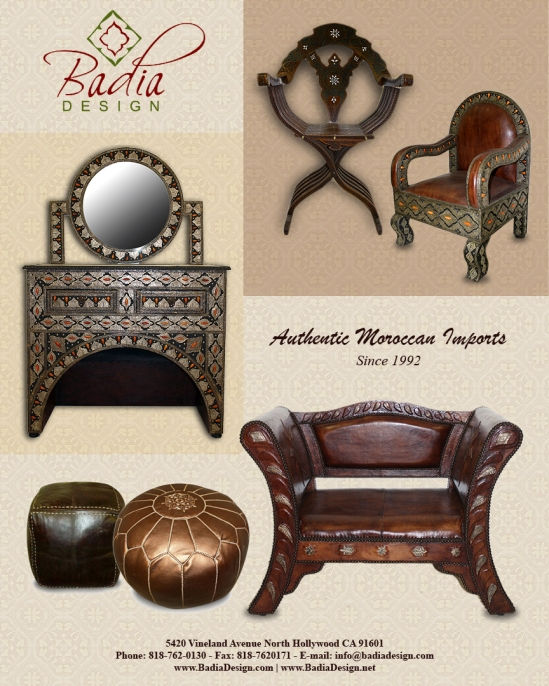 Moroccan Furnitures