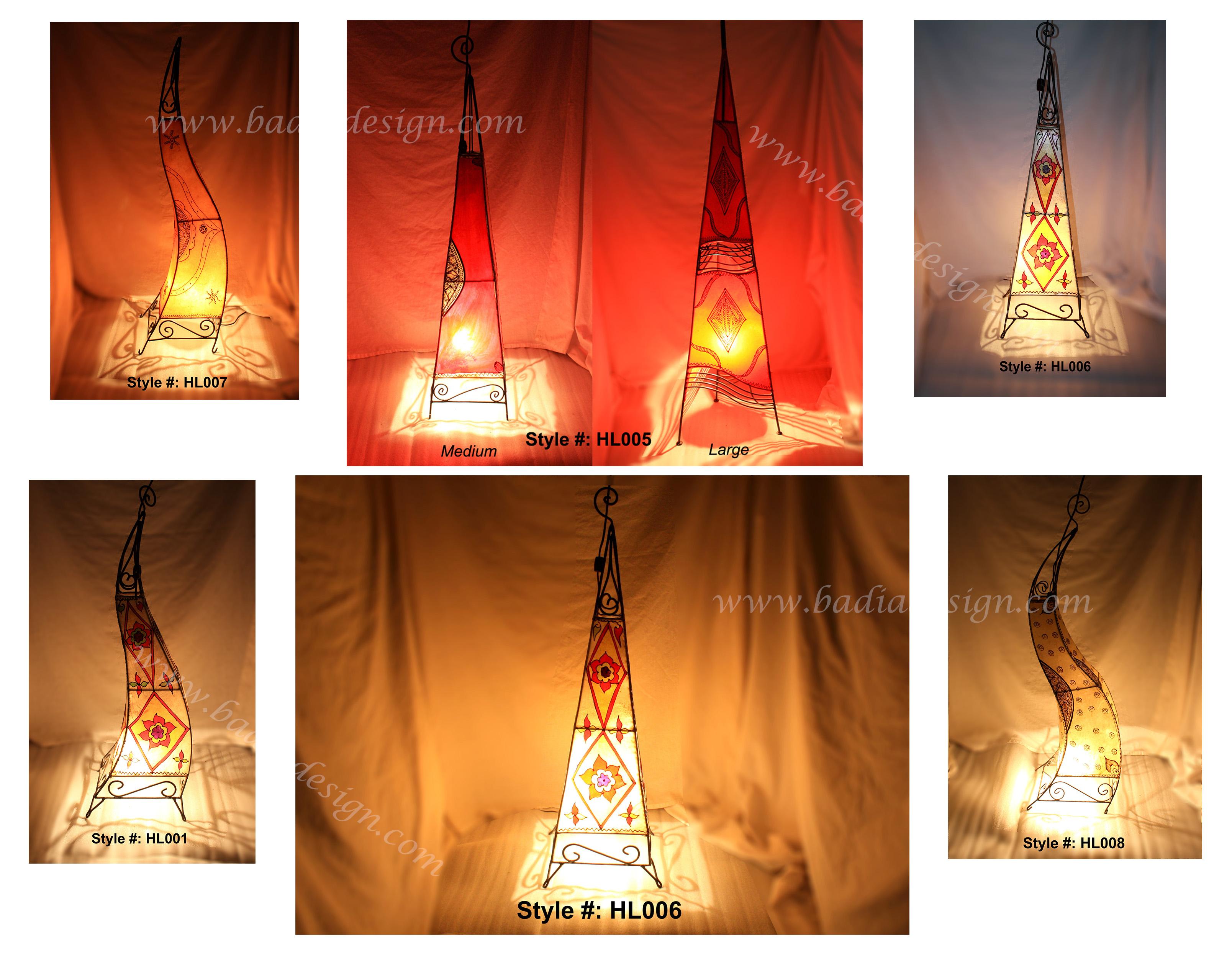 Exotic Moroccan Lighting Henna Floor Lamp Moroccan Furniture Los Angeles