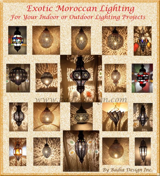 Exotic Moroccan Style Lighting