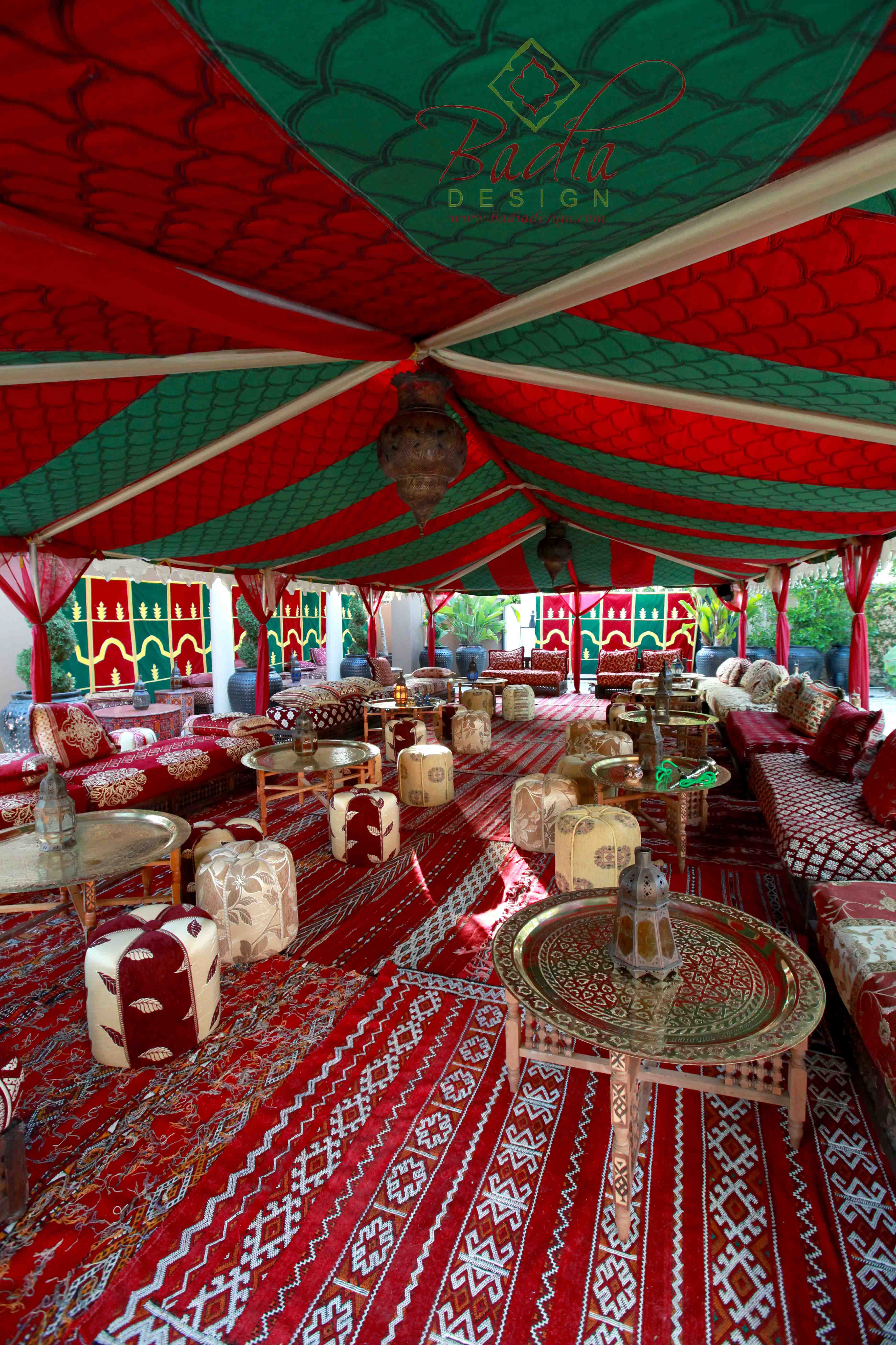 Moroccan Themed Party Rentals | Moroccan Furniture Los Angeles