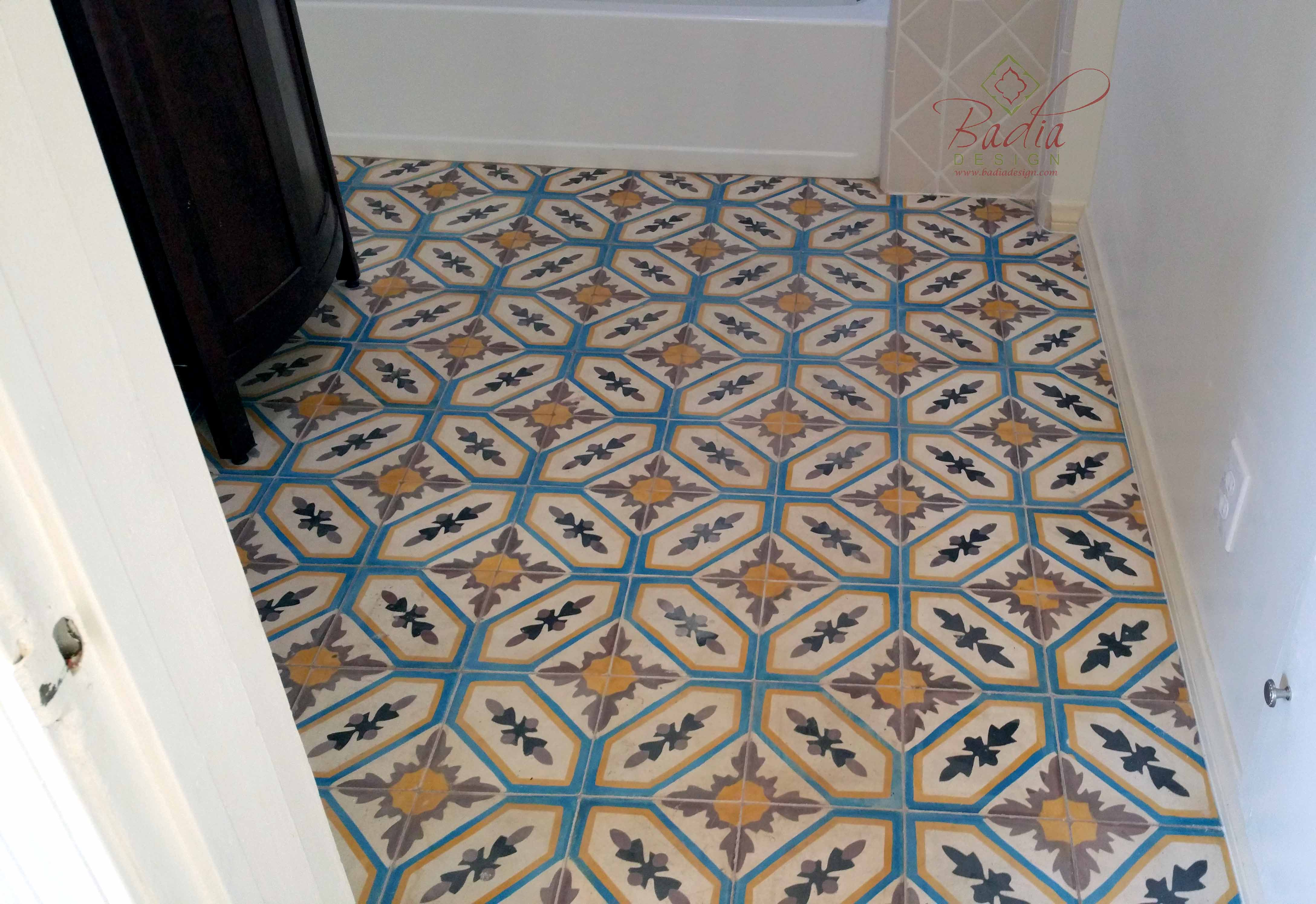 Moroccan bathroom tile Beverly Hills Moroccan Furniture Los ngeles - ^
