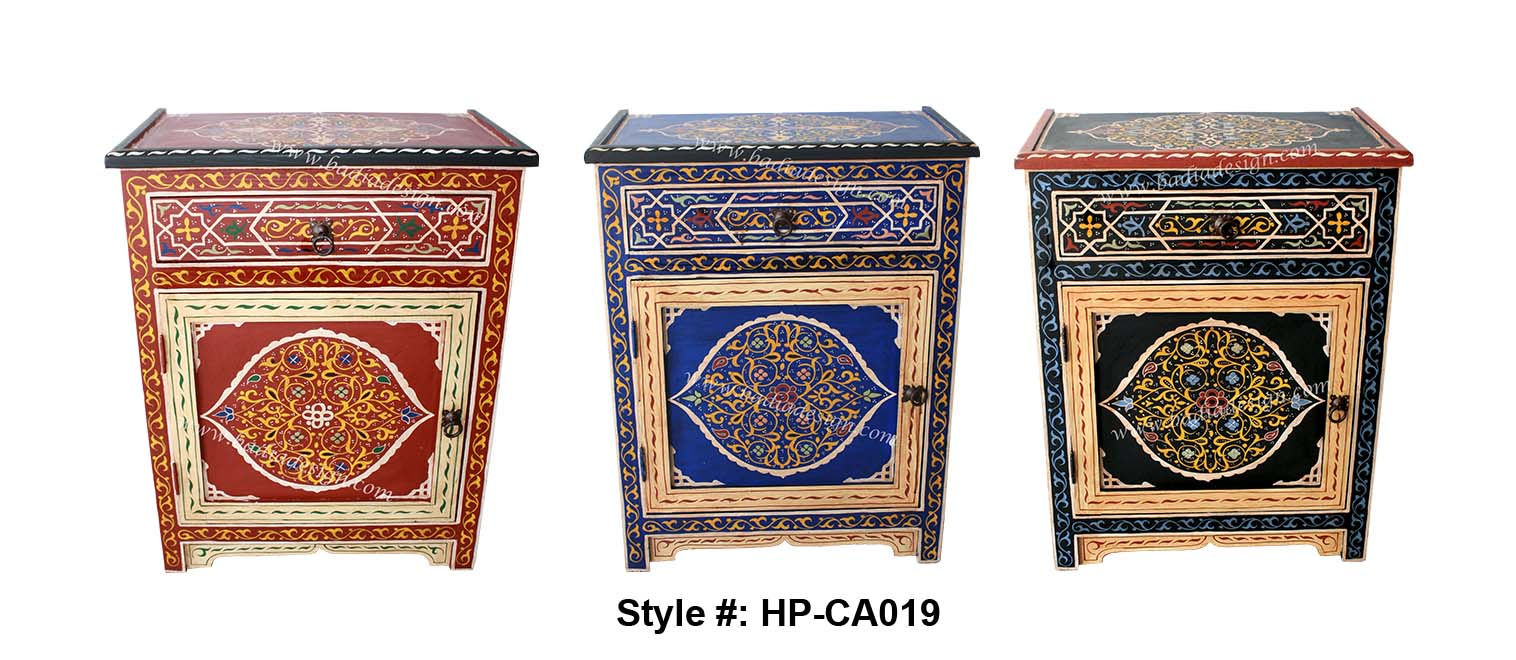 cheap moroccan furniture. hand painted moroccan cabinet, cabinet from morocco, cheap furniture