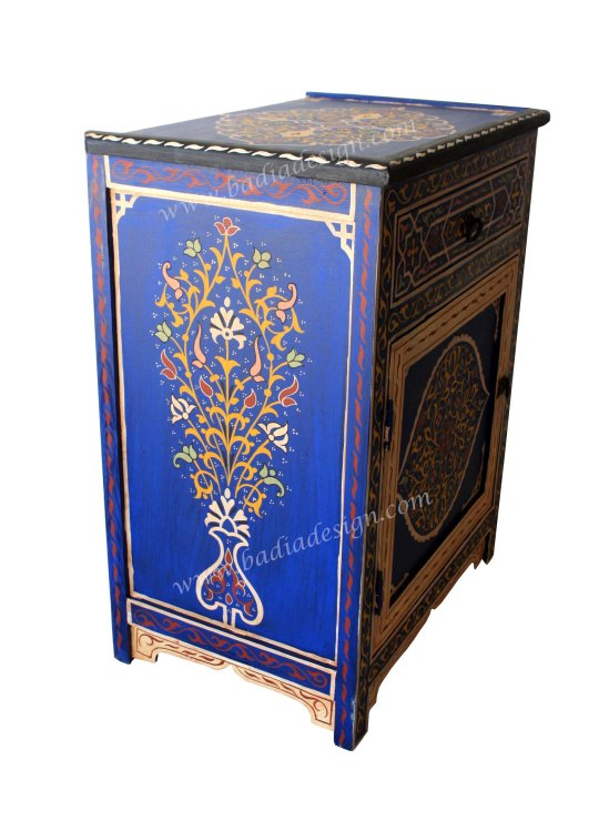Hand painted Moroccan cabinet, Hand Painted Cabinet from Morocco, hand painted cabinet, Moroccan hand painted cabinet, Moroccan hand painted furniture, hand painted furniture from Morocco, cabinet, large cabinet from Moroccan, large Moroccan cabinet, hand painted cabinet, Moroccan hand painted wooden cabinet, Moroccan cabinet, hand painted wooden cabinet, Moroccan hand painted wooden cabinet, exotic Moroccan furniture, Moroccan home furniture, Moroccan Furniture Beverly Hills