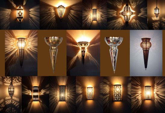 Moroccan wall lighting
