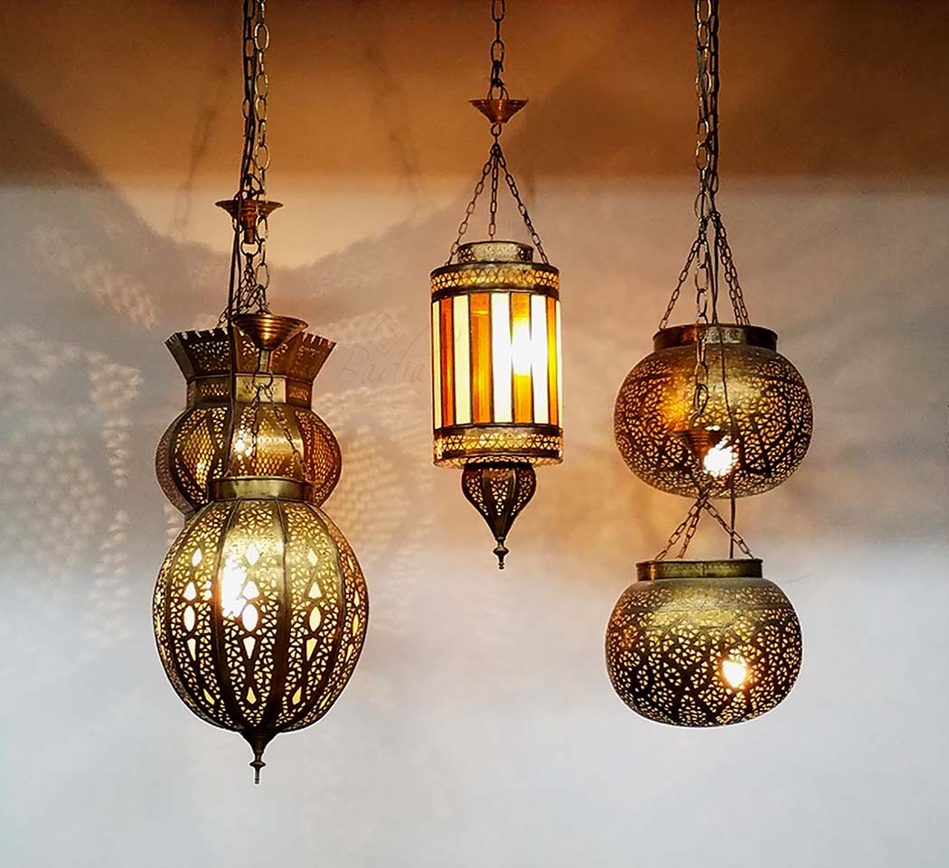 Lovely Moroccan Brass Lantern, Moroccan Hanging Brass Lantern, Arabian Nights  Lights, Moroccan Lantern, Nice Look