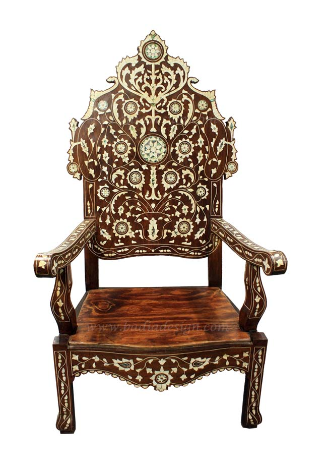 Genial Chair, Moroccan Chair, Mother Of Pearl Chair, MOP, Wedding, Wedding  Furniture