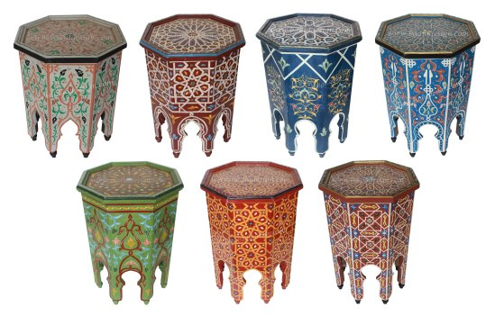 Moroccan hand painted side table, vivid color side tables, side table, hand painted side table, hand painted coffee table, Moroccan furniture, Moroccan table, Moroccan side table, Moroccan décor, vibrant color side table, coffee table, table sale, Moroccan side table sale, hand painted Moroccan side table, Moroccan hand painted furniture, Moroccan coffee table, Moroccan furniture