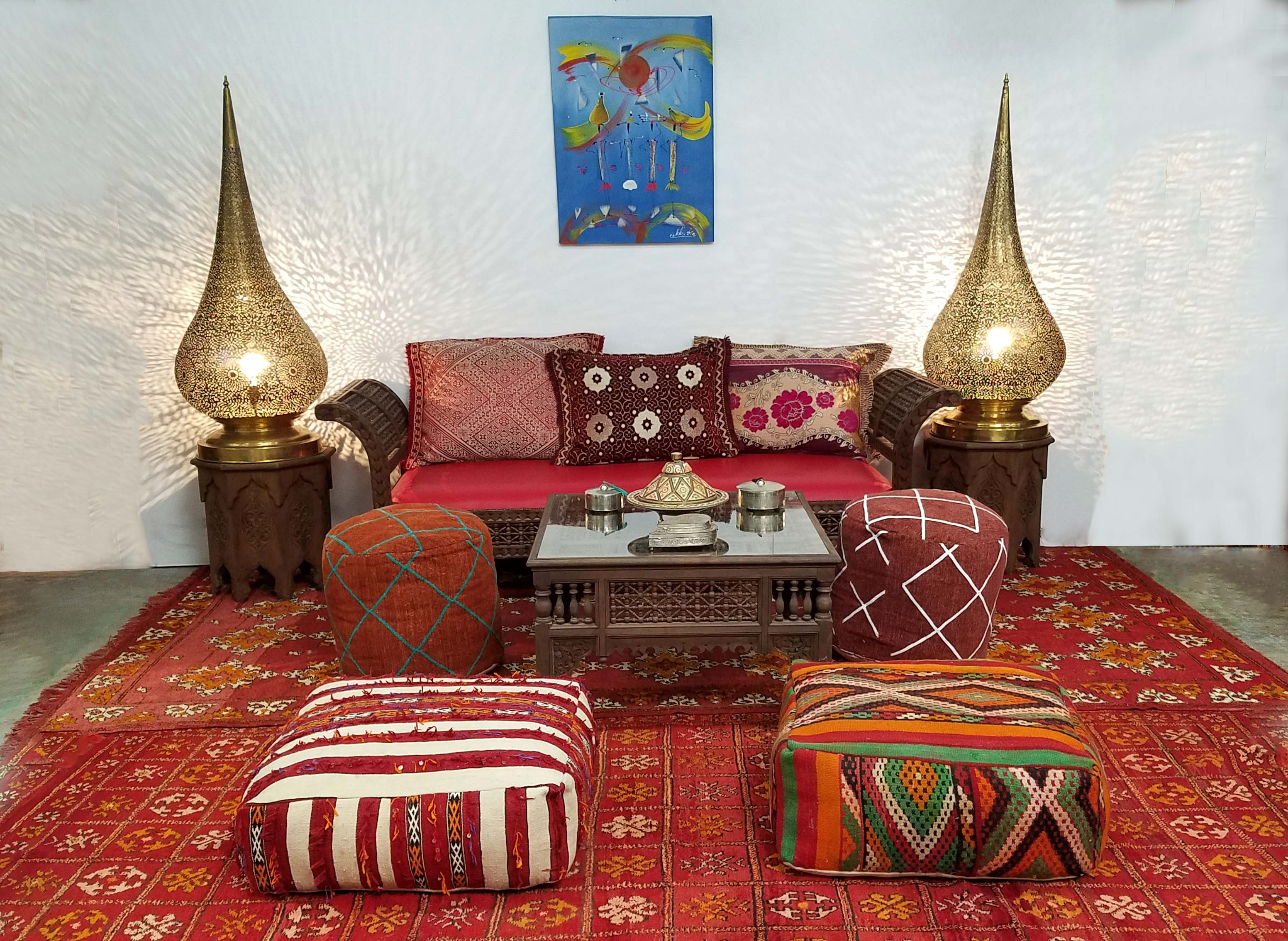 Traditional Moroccan Living Room Decor Moroccan Furniture Los Angeles